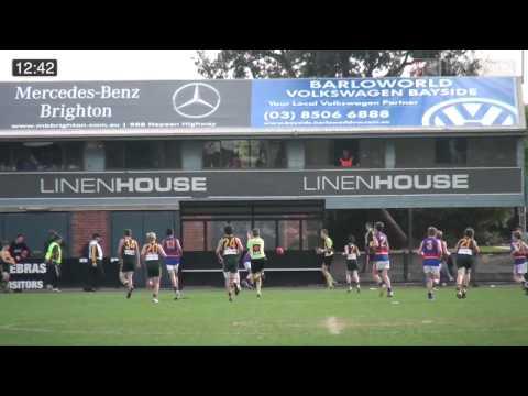 SMJFL 2014 Under 13 Div 2 Hampton Rovers V St Pauls McKinnon JFC