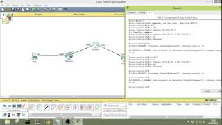 Cisco Routing Configuration (Redistribution between Static and RIP) part 9