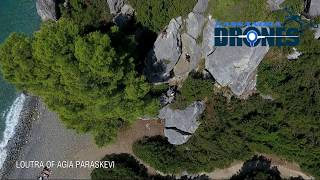 Kassandra Drones Loutra Agia Paraskevi Climbing HD 1080