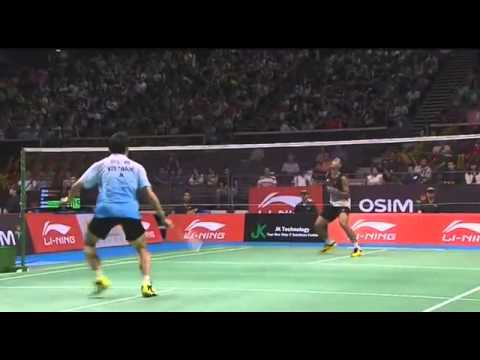 Singapore Open 2013: Nguyễn Tiến Minh vs Tommy Sugiarto