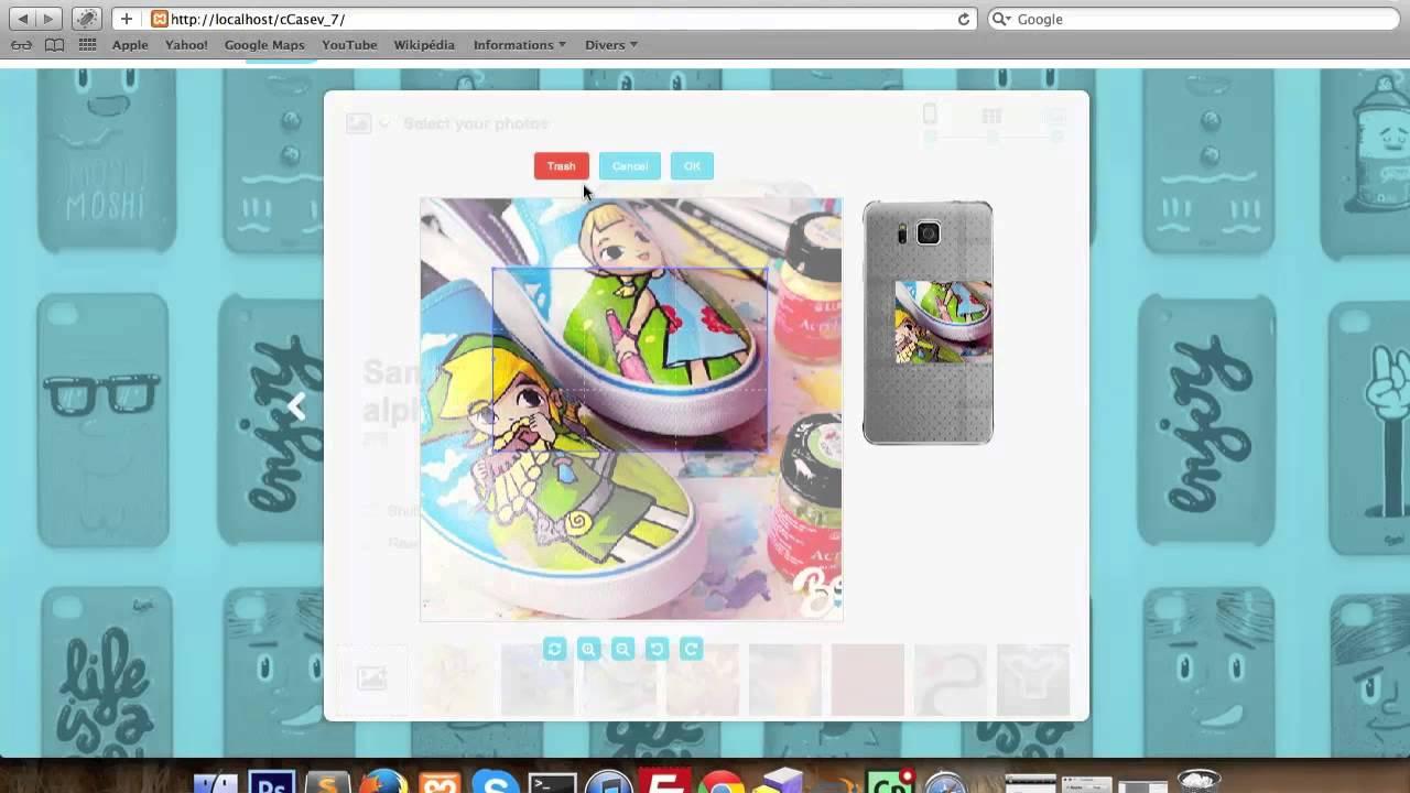 Shirt design jquery - Ccase Jquery Custom Product