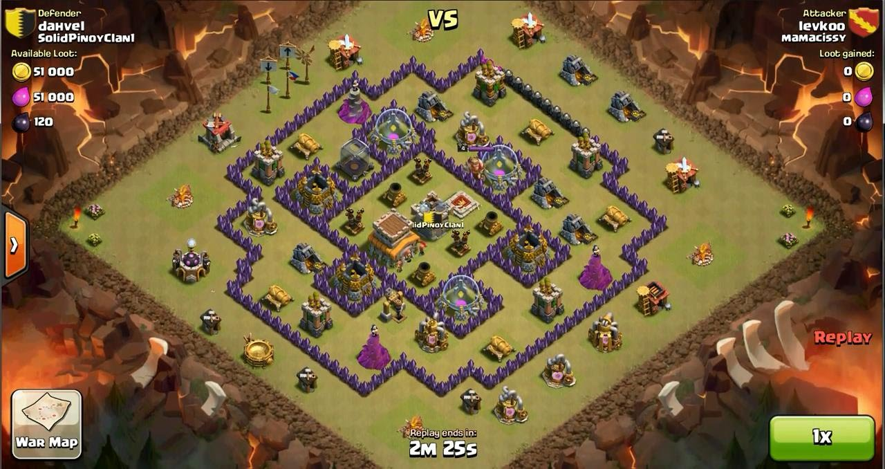 clash of clans 6.407.8 mod apk unlimited everything download