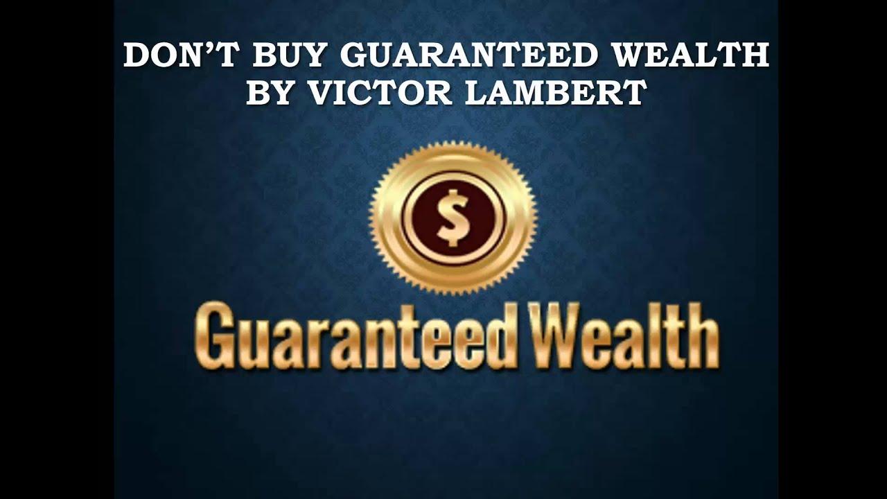 Guaranteed wealth binary options