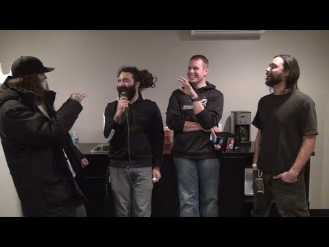 Smile Empty Soul Interview #2 in Omaha, NE - Backstage Entertainment