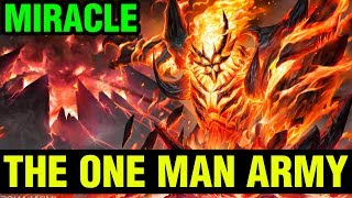 The One Man Army - Shadow Fiend Miracle- 7.15 Gameplay - Dota 2