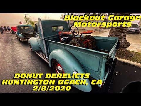 DONUT DERELICTS | HUNTINGTON BEACH, CA | 2-8-20