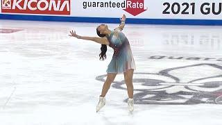 Каори Сакамото Короткая программа Женщины Лас Вегас Гран при по фигурному катанию 2021 22