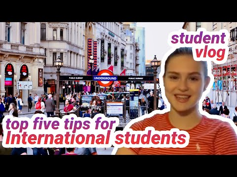 Top Tips For International Students Arriving In London | LSE Student Video Diary