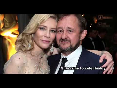 Cate Blanchett with her Handsome husband Andrew Upton Steie...Rare Collection