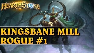 O PANIE, ALE GIERKA! - KINGSBANE MILL ROGUE #1 - Hearthstone Decks std