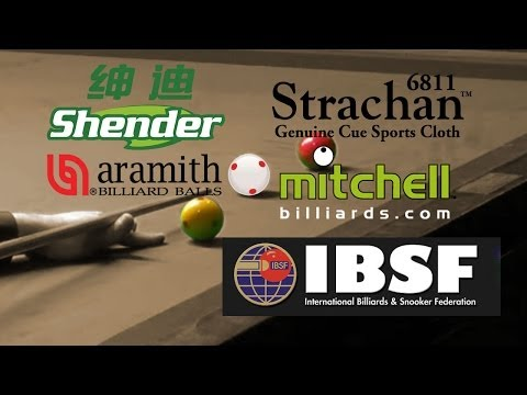 150up FINAL Pankaj Advani INDIA Vs Peter Gilchrist SINGAPORE IBSF World Billiards Championships 2015