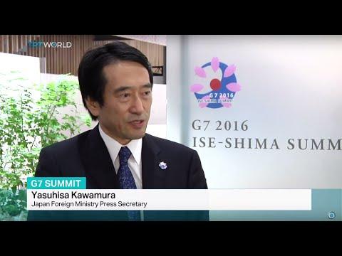 Interview with Japan Foreign Ministry Press Secretary Yasuhisa Kawamura on G7 Summit