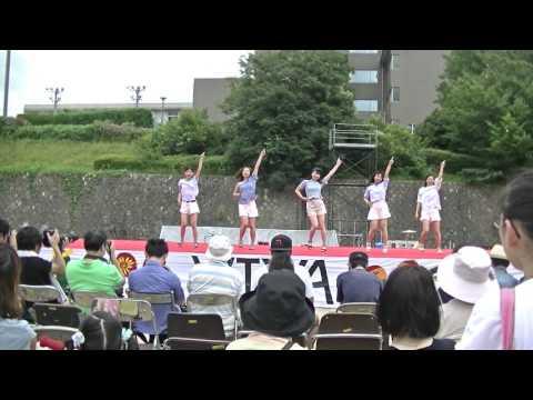 20170701 (Go Go Summer! / KARA) 大阪大学 夏まつり LUPIN