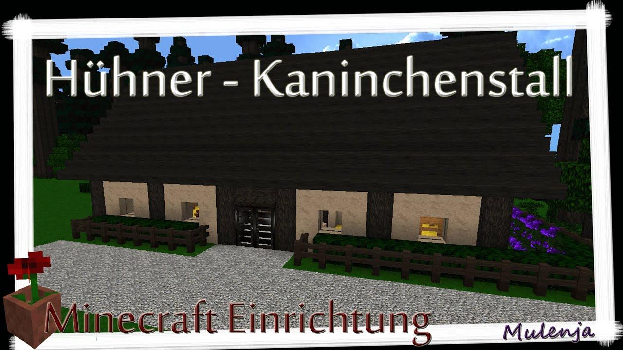 Minecraft bauernhof 02 h hner kaninchenstall einrichten in minecraft youtube - Kaninchenstall einrichten ...