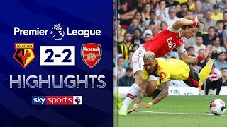 Arsenal implode as Watford earn draw | Watford 2-2 Arsenal | Premier League Highlights