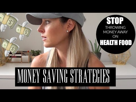 MONEY SAVING STRATEGIES | healthy eating on a budget |