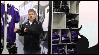 A Winning Athletic Equipment Storage Solution for UW Whitewater Warhawks Football Team