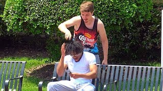 Shaving Heads Prank | RebelTV
