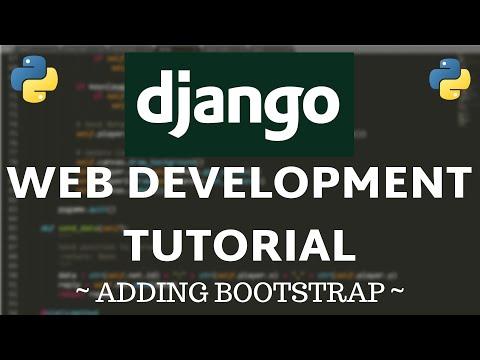 Django Tutorial - How to Add Bootstrap thumbnail