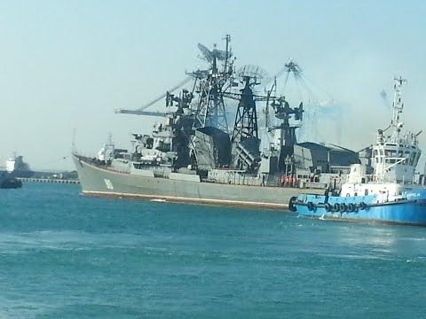 Russian Navy - destroyer Smetlivy 810