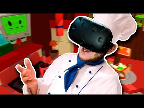 ШЕФ-ПОВАР В МАКДОНАЛДСЕ! | Job Simulator (HTC Vive VR)