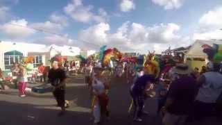 Grand Carnival Parade 61 Oranjestad Aruba 2015 Grupo LOS LAGA BAI.