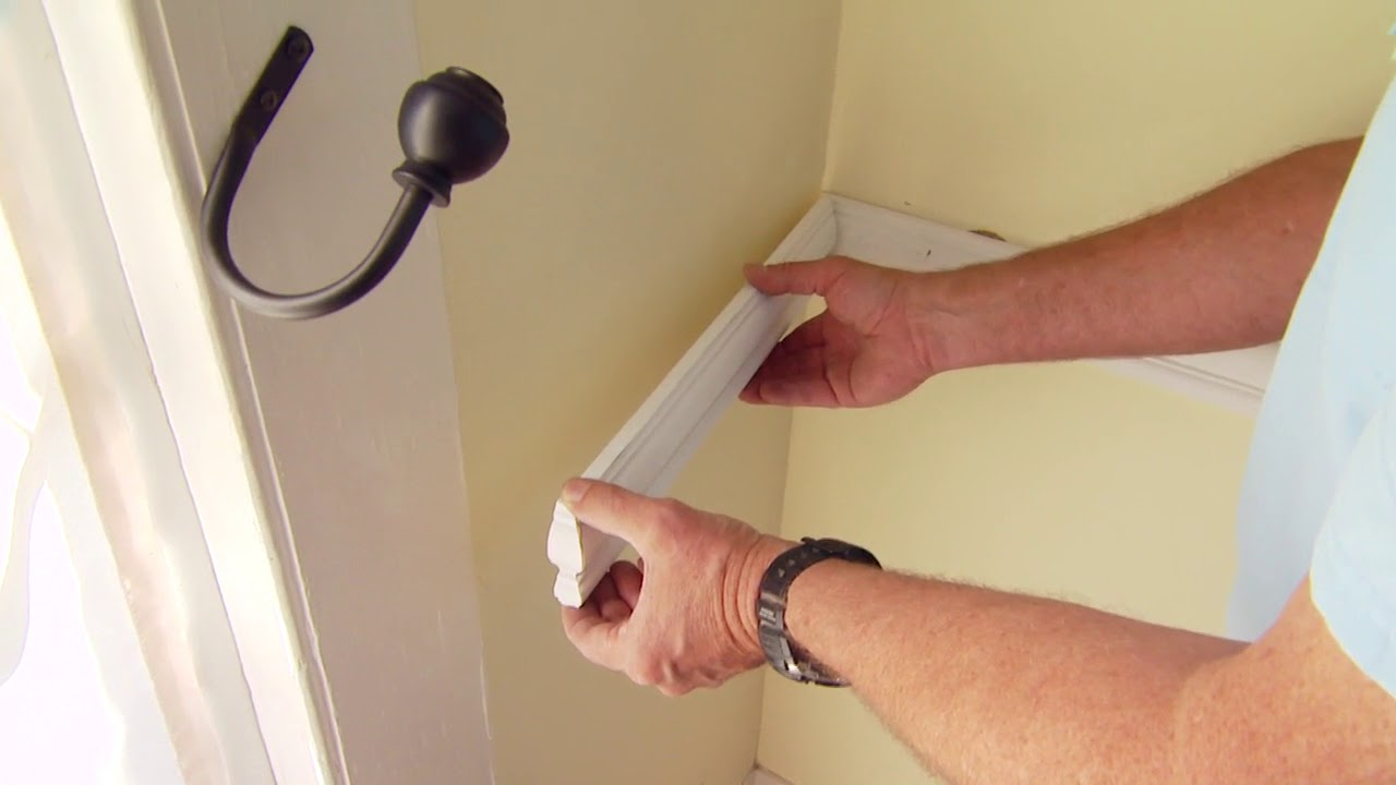 The Right Way To Install Chair Molding Youtube