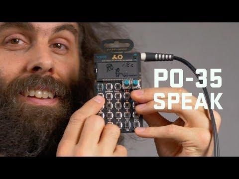 PO-35 SPEAK Tutorial