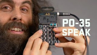 PO-35 SPEAK Tutorial