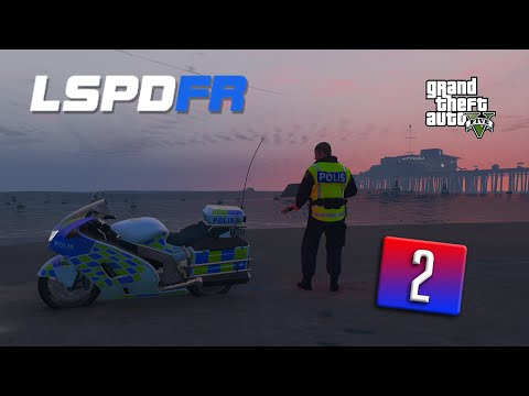 GTA 5 LSPDFR #2 - MC polis (Svenska)