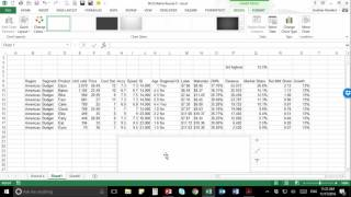 advanced excel analysis using a growth share bcg matrix