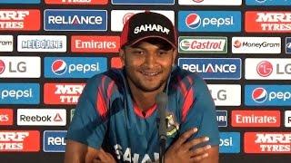 2015 WC: What Shakib said before match vs India | India vs Bangladesh 2015 World Cup