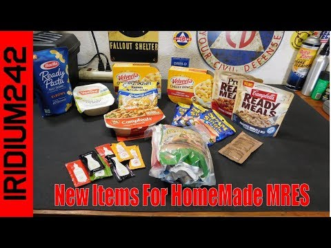 New Items For HomeMade MRES!