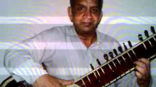 """Rag- Puriya Dhnashri-.mp4"""" Sound of Sitar"""""""