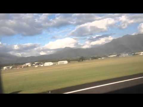 Take off from Nouméa Airport New Caledonia