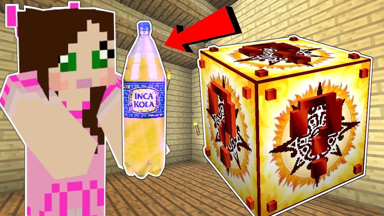 Minecraft: INCA LUCKY BLOCK!! (SUPER SODA, LUCKY STATUES & MORE!) Mod Showcase