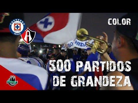 Color Cruz Azul vs Atlas (2-0) l 500 victorias en el Azteca l Apertura 2018