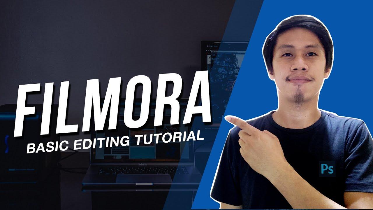 Paano mag edit sa Filmora 9 | Basic Editing Tutorial Tagalog