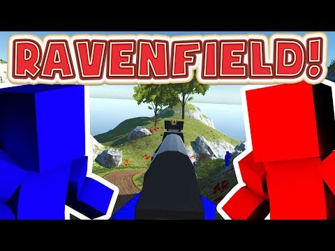 RED VS BLUE TOY SOLDIERS 500 PLAYER MATCH - RAVENFIELD