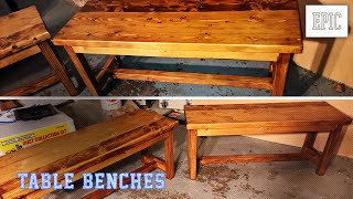My Next Project: Bench (for the Kitchen Table)