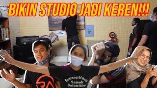 BONGKAR STUDIO RANS ENTERTAINMENT!!! SET UP DARI ULANG!!!