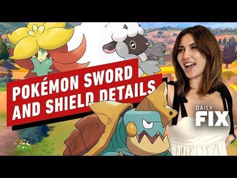 tons-of-pokemon-sword-and-shield-details-revealed---ign-daily-fix