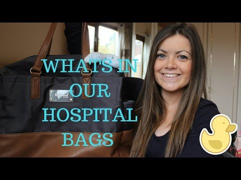 What's In Mum & Baby's Hospital Bag | C Section Delivery | 2nd Baby