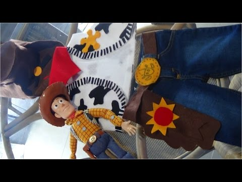 Como hacer el disfraz de Woody Toy Story | Doovi
