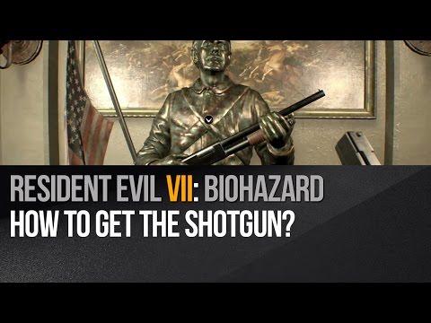Resident Evil 7 - How to get the shotgun?