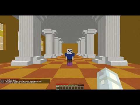 Minecraft: Undertale Sans Boss Fight - Dropper Edition! (Preview #1)