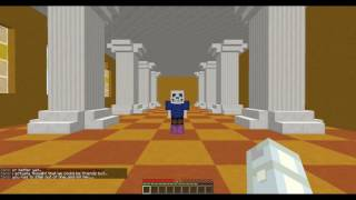Minecraft: Undertale Sans Boss Fight - Dropper Edition! (Preview #1)