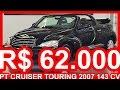 PASTORE R$ 62.000 Chrysler PT Cruiser Touring 2007 Preto AT4 FWD aro 16 2.4 16v 143 cv #Chrysler