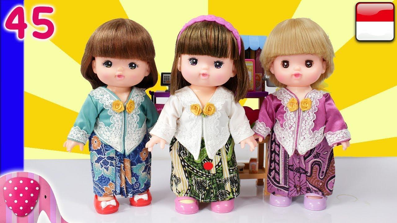 Mainan Boneka Eps 45 Menjahit Baju Kebaya - GoDuplo TV #1