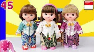 Mainan Boneka Eps 45 Menjahit Baju Kebaya - GoDuplo TV